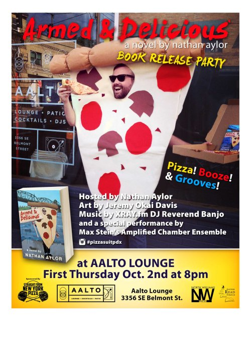 A&D Book Release Pizza Party